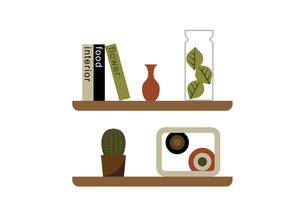 棚 飾り 雑貨 イラストのイラスト素材 [FYI04797333]
