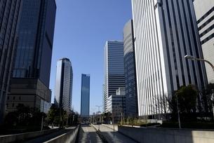 大坂,青空の大阪ビジネスパークの写真素材 [FYI04797603]