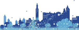 クリスマスのイルミネーションのイラスト素材 [FYI04797851]