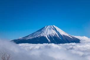 富士山 雲海の写真素材 [FYI04797864]