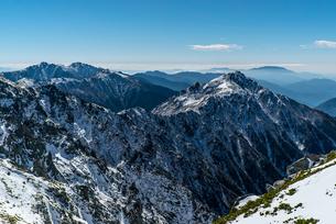 木曽山脈の写真素材 [FYI04797868]