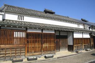 古い日本の木造家屋の写真素材 [FYI04798423]