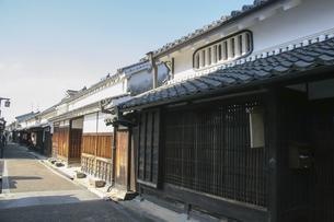 奈良橿原・今井町の古い町並みの写真素材 [FYI04798429]