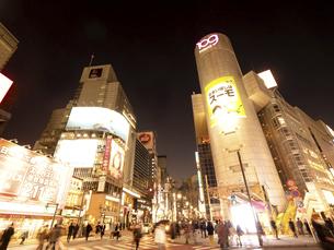渋谷 道玄坂下交差点とSHIBUYA109の写真素材 [FYI04798648]