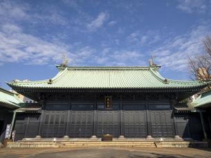 湯島聖堂 東京都の写真素材 [FYI04798668]
