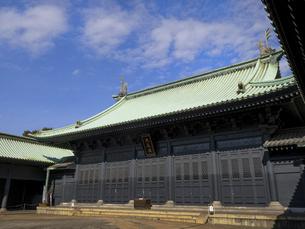 湯島聖堂 東京都の写真素材 [FYI04798676]