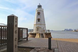 旧堺燈台の写真素材 [FYI04798957]
