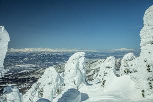冬の蔵王の写真素材 [FYI04799097]