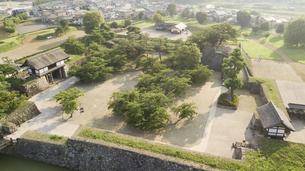 松代城跡 日本のお城 長野県の写真素材 [FYI04799190]