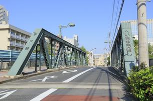 平久川 平久橋の写真素材 [FYI04799717]