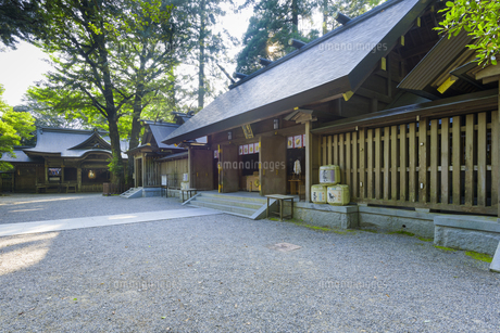 天岩戸神社 西本宮の写真素材 [FYI04799774]