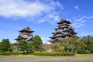 伏見桃山城の写真素材 [FYI04799778]