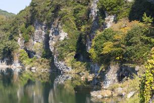 秋の耶馬渓 本耶馬渓の写真素材 [FYI04799791]