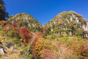 秋の耶馬渓 深耶馬渓の写真素材 [FYI04799797]