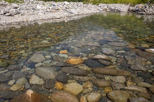 湯檜曽川の川面の写真素材 [FYI04800207]