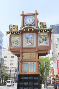 人形町からくり櫓の写真素材 [FYI04800254]