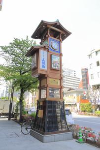 人形町からくり櫓の写真素材 [FYI04800255]