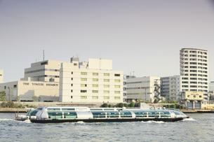 水上バス ホタルナの写真素材 [FYI04800285]