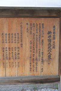 善慶寺の看板の写真素材 [FYI04800321]