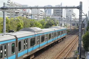 JR京浜東北線の写真素材 [FYI04800327]