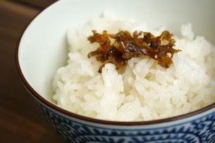 白米と雑魚の写真素材 [FYI04800349]