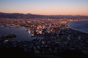 函館の夕景の写真素材 [FYI04801191]