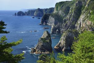 初夏の北山崎の写真素材 [FYI04801232]