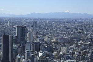 都心から見た富士山の写真素材 [FYI04801339]