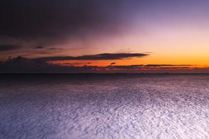 根室湾の朝の写真素材 [FYI04801549]