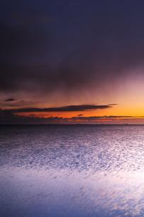 根室湾の朝の写真素材 [FYI04801551]