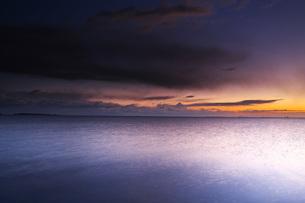 根室湾の朝の写真素材 [FYI04801553]