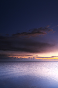 根室湾の朝の写真素材 [FYI04801555]