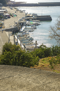 塩屋漁港の写真素材 [FYI04801955]