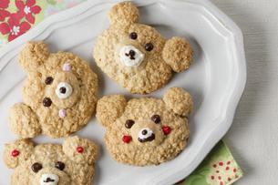 くまのクッキーの写真素材 [FYI04801991]