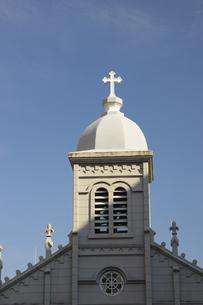 カトリック手取教会の写真素材 [FYI04801997]