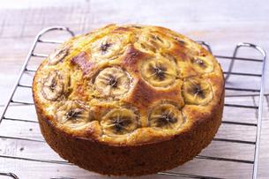バナナケーキの写真素材 [FYI04802110]