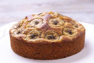 バナナケーキの写真素材 [FYI04802111]