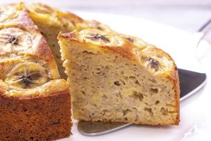 バナナケーキの写真素材 [FYI04802112]
