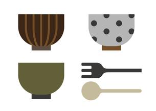 食器 器 イラストのイラスト素材 [FYI04802715]
