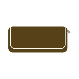 大人の長財布のイラストのイラスト素材 [FYI04802917]