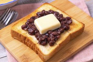 あんバタートーストの写真素材 [FYI04803063]
