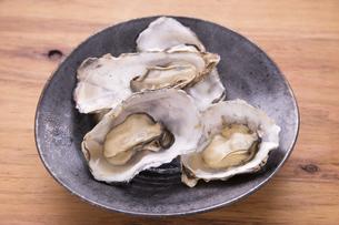 蒸し牡蛎の写真素材 [FYI04803111]