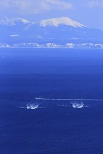 国後島と根室海峡の写真素材 [FYI04803377]