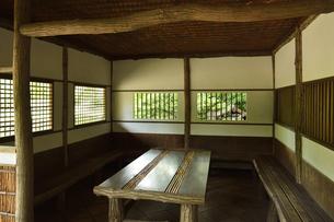 小石川後楽園・丸八屋内部の写真素材 [FYI04803501]