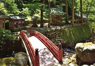 永平寺・永平寺川に架かる偃月橋の写真素材 [FYI04803544]