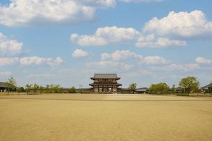 奈良・平城宮跡の朱雀門ひろばの写真素材 [FYI04803565]