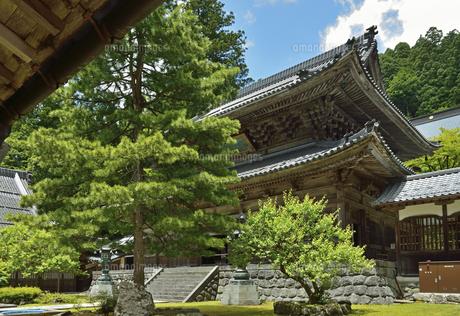 永平寺・仏殿の写真素材 [FYI04803573]