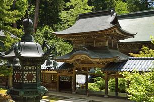 永平寺・中雀門の写真素材 [FYI04803575]