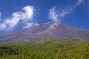 須走口五合目からの富士山の写真素材 [FYI04803581]