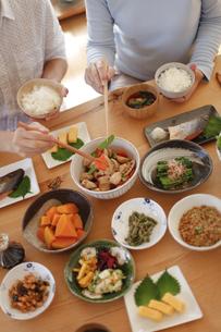日本の食事、和食、家庭料理の写真素材 [FYI04803645]